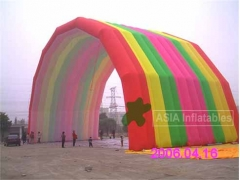 Inflatable Rainbow Arch Tent