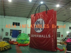 Red Inflatable Bag Model