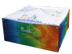 Full Colour Printing Inflatable Cube Tent