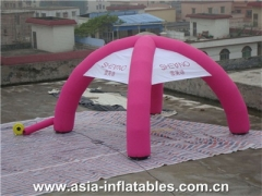 Pink Inflatable Dome Tent