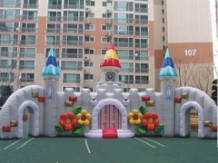 Inflatable Church Wall Model and Stage