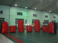 Bunker di paintball gonfiabili