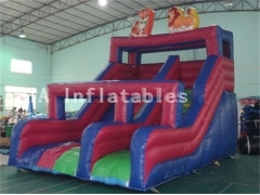 Zoo Park Inflatable Slide