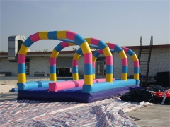 Colorful Dual Lane Slip N Slide