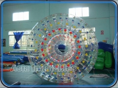 Puntini colorati zorb ball
