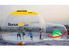 Tenda a bolle con tunnel
