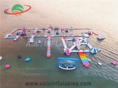 Strong Style Subic Inflatable Folating Island Water Park and Wholesale Price