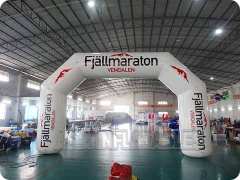 30 Foot Angle Inflatable Advertising Archway