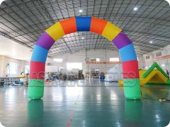 Rainbow Inflatable Round Arch