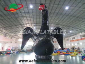 inflatable decoration stage swan model
