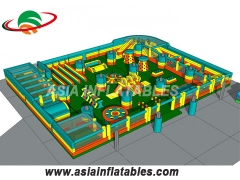 Beautiful appearance Inflatable World Indoor Playground Theme Parks