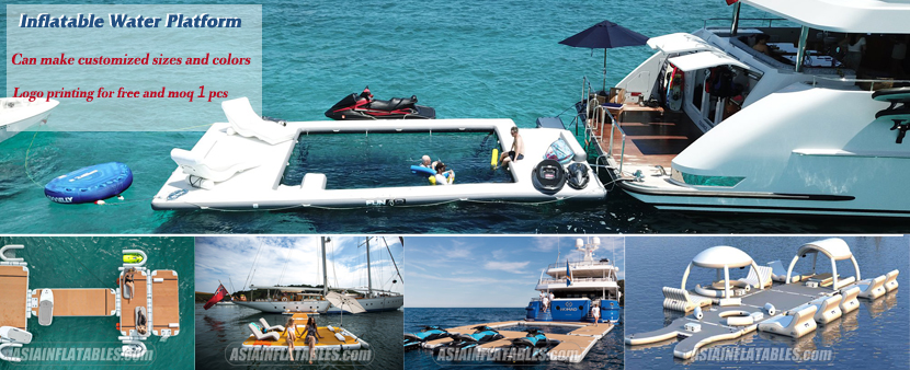 Inflatable Dock & Floating Swimming Pool